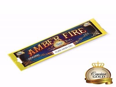 CAVIAR GOLD Amber Fire Hash Oil - Original