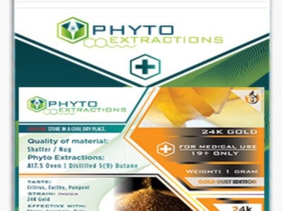 PHYTO EXTRACTION Photo 24k Gold